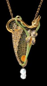 Georges Fouquet, pendente, 1900