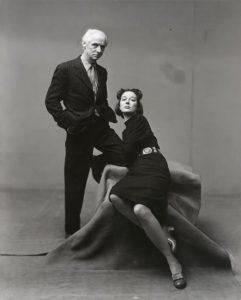 Irving Penn, Dorothea Tanning e Max Ernst, New York, 1947